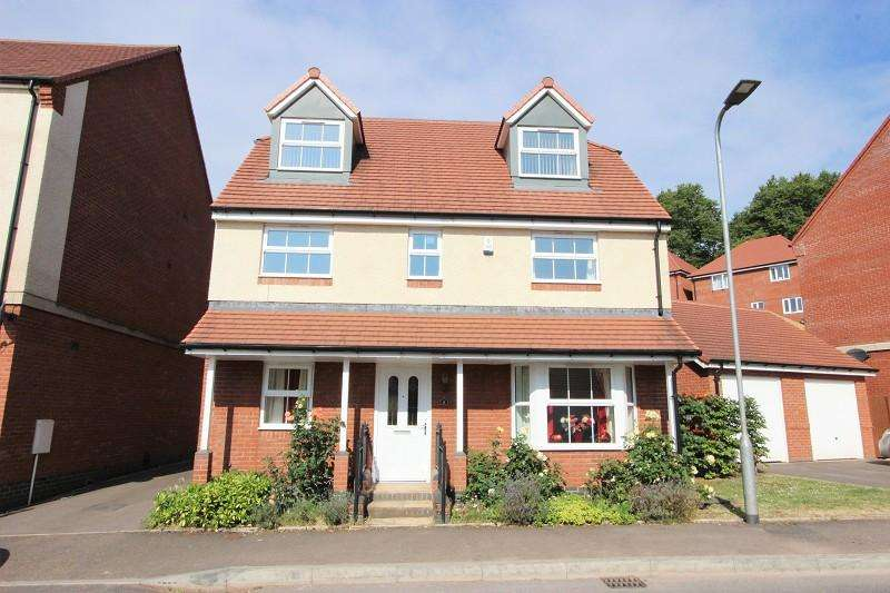 5 Bedrooms Detached House for sale in Ash Tree View, Newport. NP20 5BX