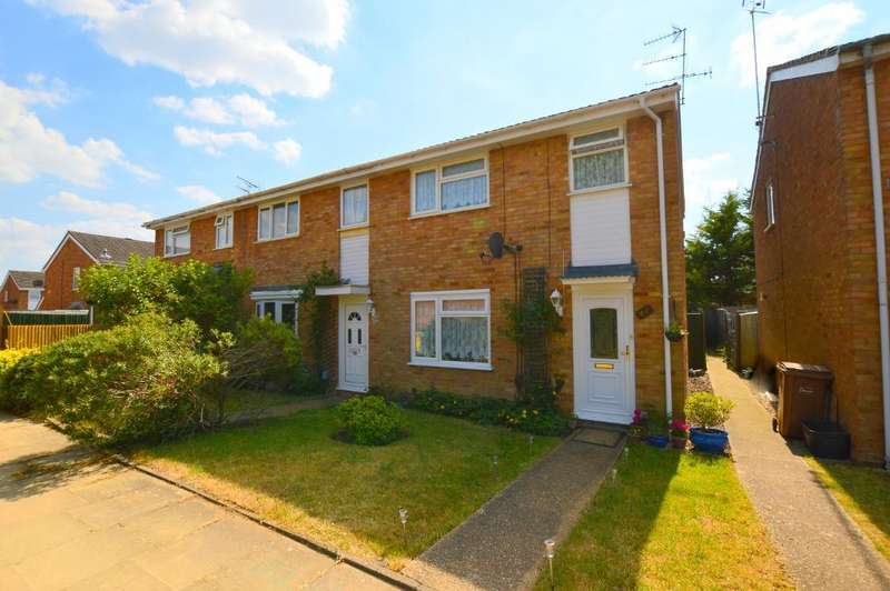 3 Bedrooms End Of Terrace House for sale in Ventnor Gardens, Luton, Bedfordshire, LU3 3SL