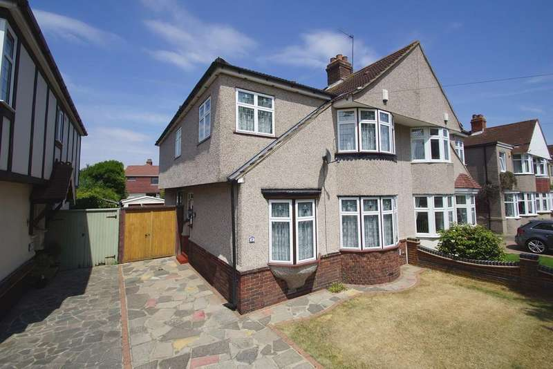 5 Bedrooms Semi Detached House for sale in Rowley Avenue, Sidcup, DA15