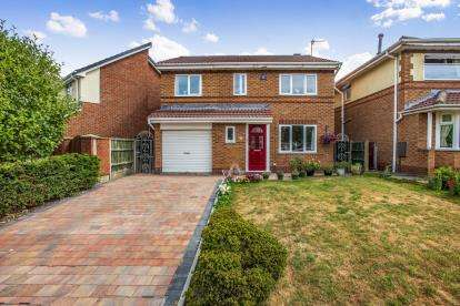 4 Bedrooms Detached House for sale in Squires Wood, Fulwood, Preston, Lancashire, PR2