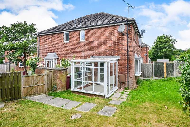 1 Bedroom Property for sale in Slade Close, Broadmeadows,South Normanton, Alfreton, DE55