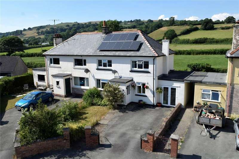 3 Bedrooms Semi Detached House for sale in Glanymorfa, Llangadfan, Welshpool, Powys