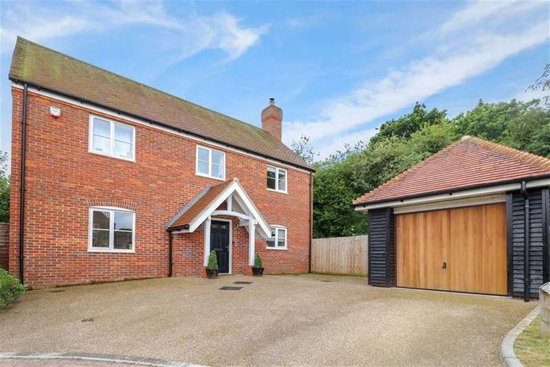 4 Bedrooms Detached House for sale in Humbers Hoe, St Albans, Hertfordshire