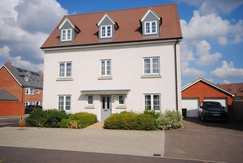5 Bedrooms Detached House for sale in Emberson Croft, Broomfield, Chelmsford, CM1