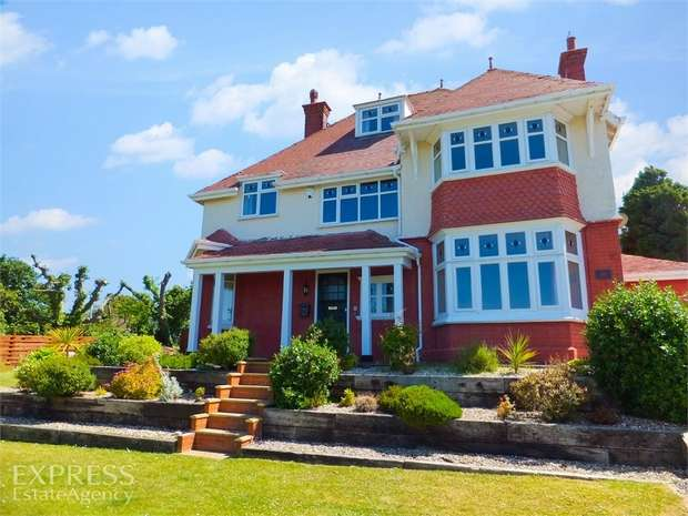 5 Bedrooms Detached House for sale in Peulwys Lane, Old Colwyn, Colwyn Bay, Conwy