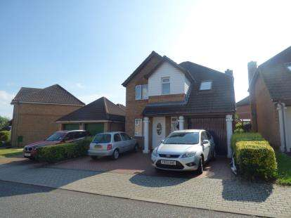 4 Bedrooms Detached House for sale in Streatham Place, Bradwell Common, Milton Keynes, Buckinghamshire