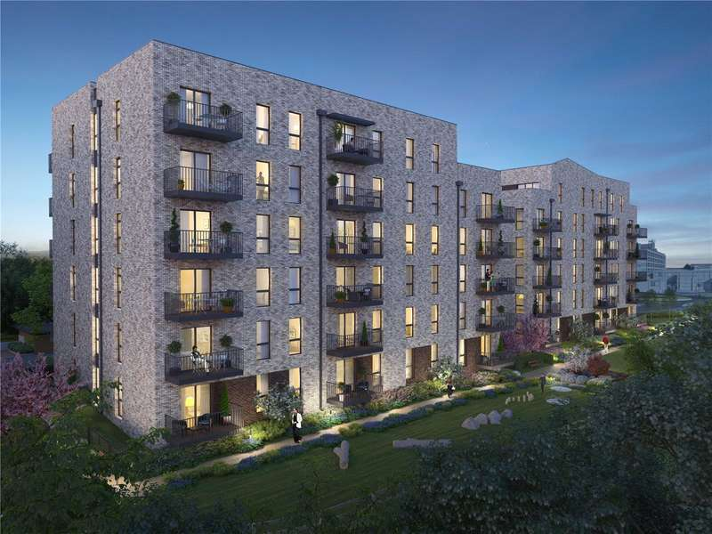 2 Bedrooms Apartment Flat for sale in Watford Riverwell, Thomas Sawyer Way, Watford, Hertfordshire, WD18