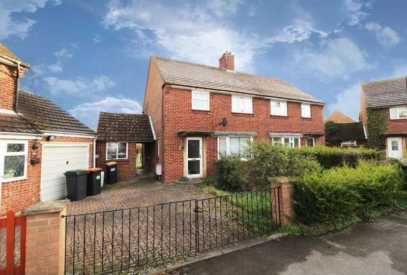 3 Bedrooms Semi Detached House for sale in Street Close, Carlton, Bedfordshire, MK43