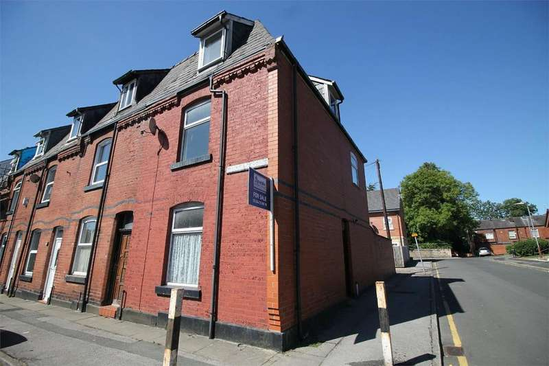 3 Bedrooms End Of Terrace House for sale in Warwick Street, BOLTON, Lancashire