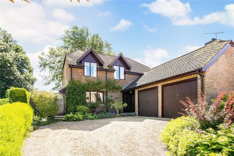 4 Bedrooms Detached House for sale in Five Bells Lane, Nether Wallop, Stockbridge, Hampshire, SO20