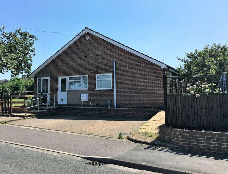2 Bedrooms Semi Detached Bungalow for sale in Wicklow Avenue, Melton Mowbray