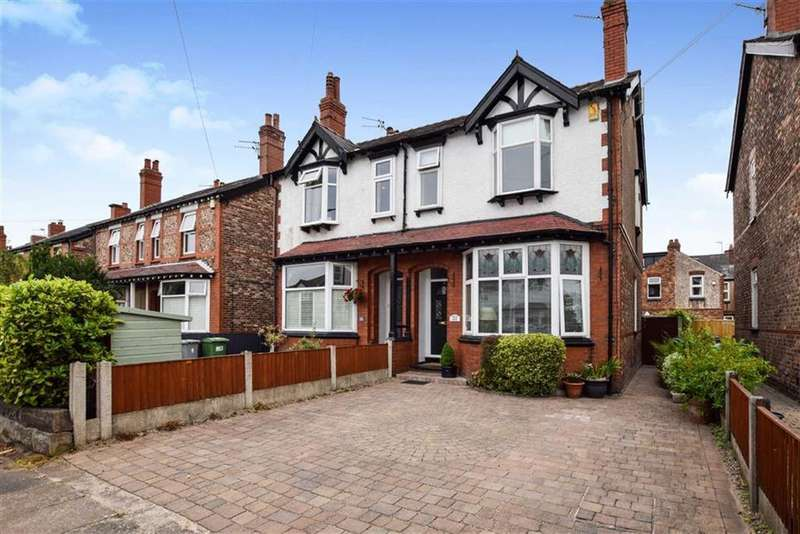 4 Bedrooms Semi Detached House for sale in Gaskell Road, Altrincham, Cheshire, WA14