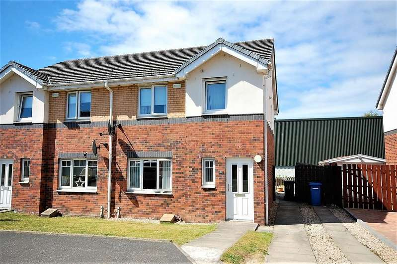 3 Bedrooms Semi Detached House for sale in Osprey Road, Paisley PA3 2QG