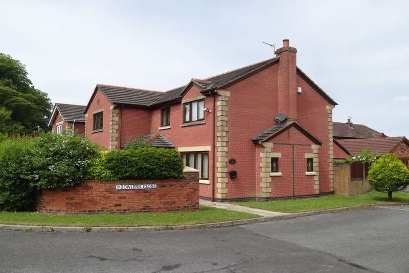 4 Bedrooms Detached House for sale in Bowlers Close, Fulwood, Preston, PR2