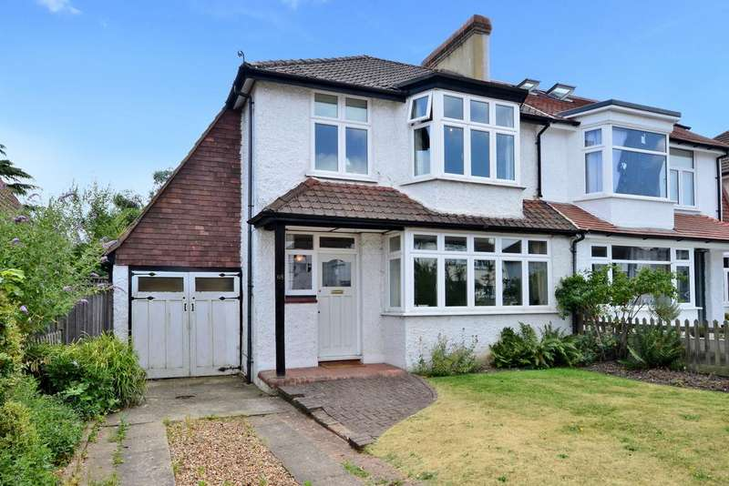 3 Bedrooms Semi Detached House for sale in Berrylands, Surbiton, KT5