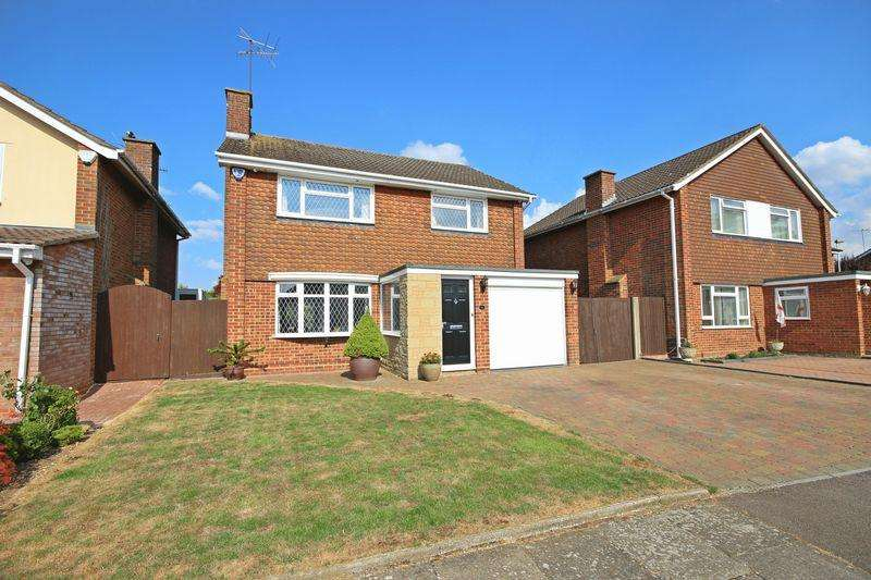 4 Bedrooms Detached House for sale in Turnpike Drive, Luton