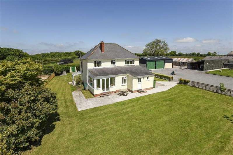 4 Bedrooms Detached House for sale in Clayhidon, Cullompton, Devon, EX15