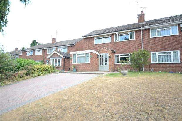 4 Bedrooms Semi Detached House for sale in Coppice Road, Woodley, Reading