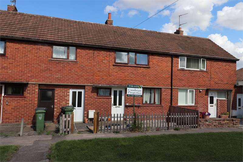 3 Bedrooms Terraced House for sale in CA1 3QX Springfield Road, Harraby, Carlisle, Cumbria