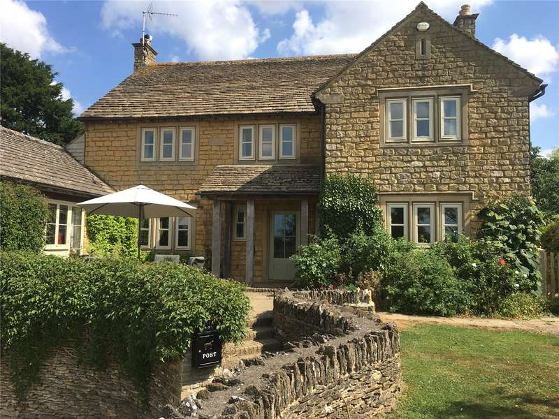 4 Bedrooms Detached House for sale in Church Lane, Brokenborough, Malmesbury, Wiltshire, SN16