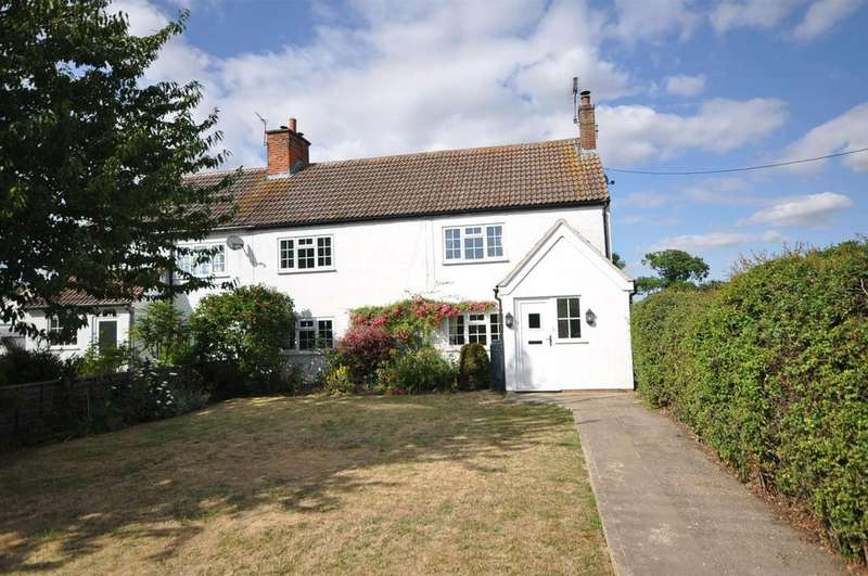 4 Bedrooms Semi Detached House for sale in Main Street, Hougham, Grantham