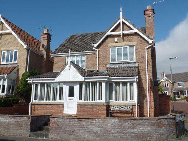 4 Bedrooms Detached House for sale in O NEIL DRIVE, PETERLEE, COTSFORD HALL, PETERLEE AREA VILLAGES