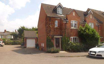 4 Bedrooms End Of Terrace House for sale in Cooks Way, Biggleswade, Bedfordshire