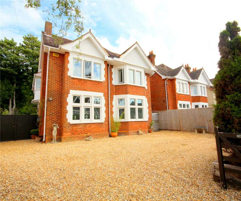 5 Bedrooms Detached House for sale in Church Road, Ashley Cross, Poole, Dorset, BH14