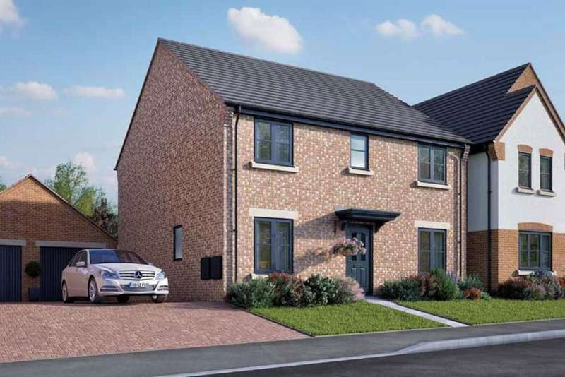 4 Bedrooms Detached House for sale in off Mansell Close, Stafford