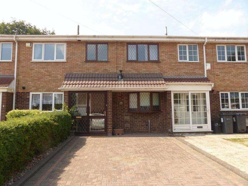 3 Bedrooms Terraced House for sale in Mayfair Close, Kingstanding, Birmingham