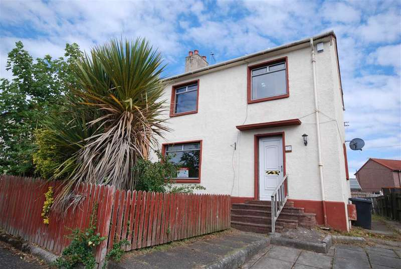 3 Bedrooms Semi Detached House for sale in Ashdale Avenue, Saltcoats