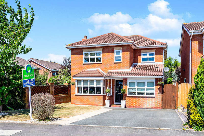 5 Bedrooms Detached House for sale in Rembrandt Drive, Shawbirch, Telford, TF5