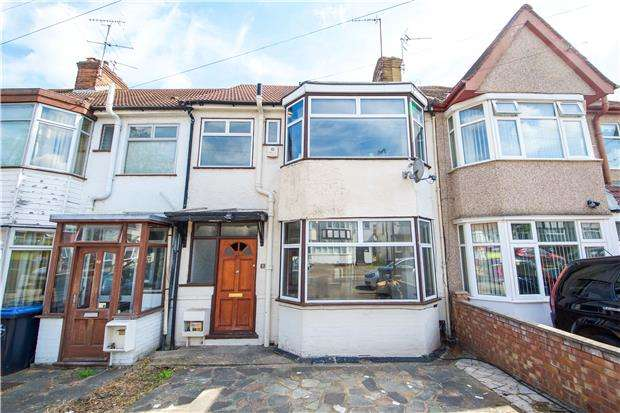 3 Bedrooms Terraced House for sale in Evelyn Avenue, KINGSBURY, NW9 0JF