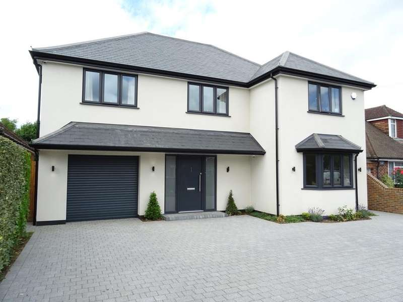 5 Bedrooms Detached House for sale in Orchard Avenue, Woodham, Addlestone, Surrey KT15