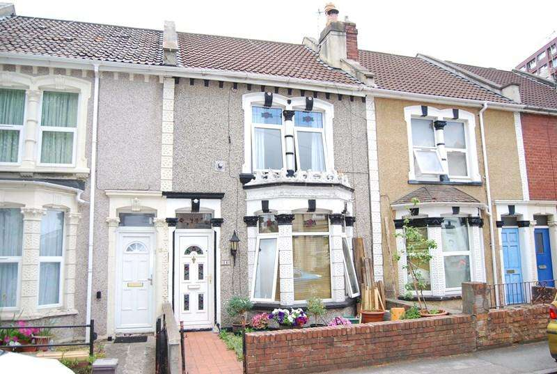2 Bedrooms Terraced House for sale in Victoria Avenue, Redfield, Bristol
