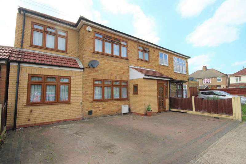 4 Bedrooms Semi Detached House for sale in Ellis Avenue, Rainham