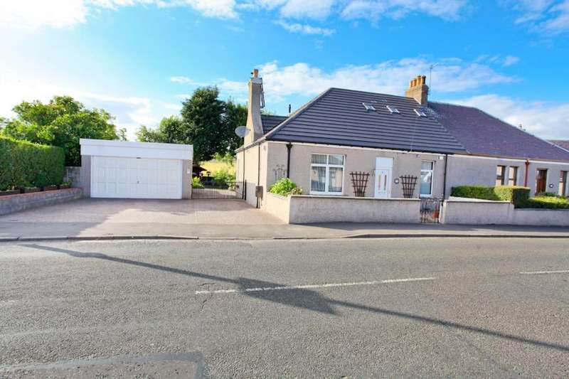 2 Bedrooms Semi Detached Bungalow for sale in West End, Kinglassie, Lochgelly