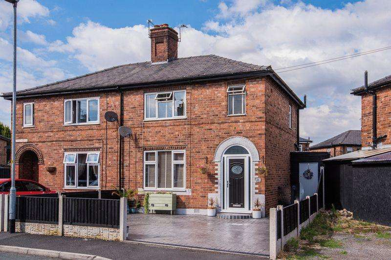 3 Bedrooms Semi Detached House for sale in Banks Crescent, Latchford