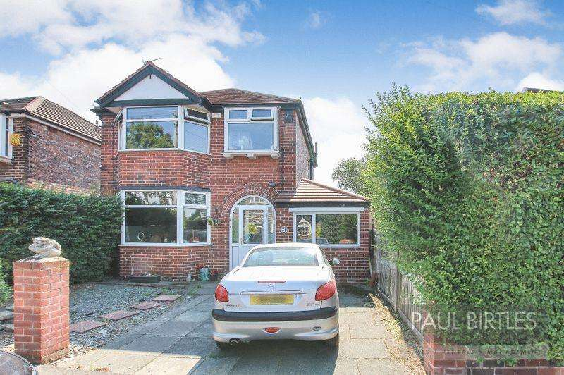 3 Bedrooms Detached House for sale in Mansfield Road, Flixton, Manchester
