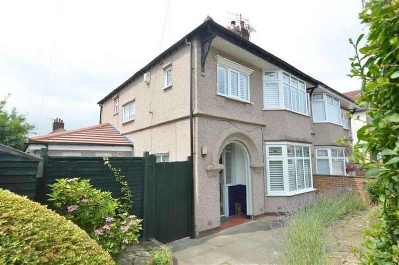 3 Bedrooms Semi Detached House for sale in Westbank Road, Devonshire Park, Hr Tranmere, CH42