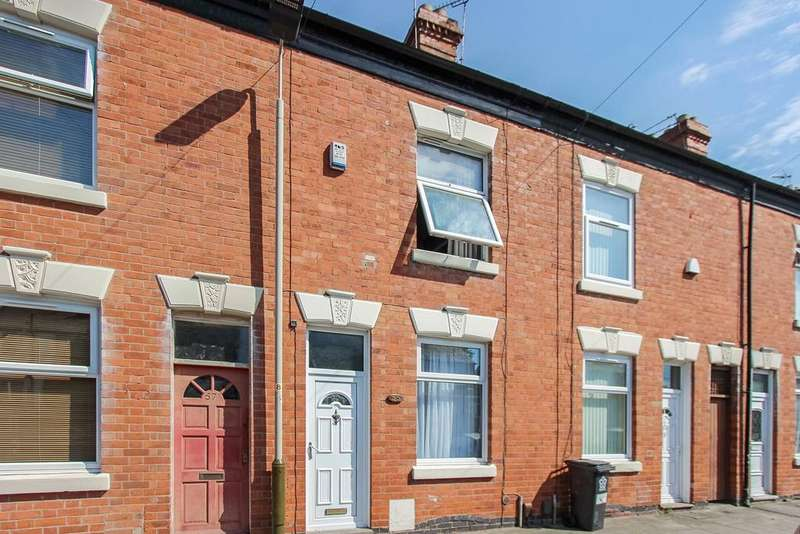 2 Bedrooms Terraced House for sale in Mostyn Street, Leicester, LE3