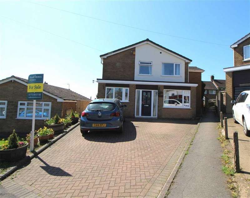 4 Bedrooms Detached House for sale in Bessalone Drive, Belper