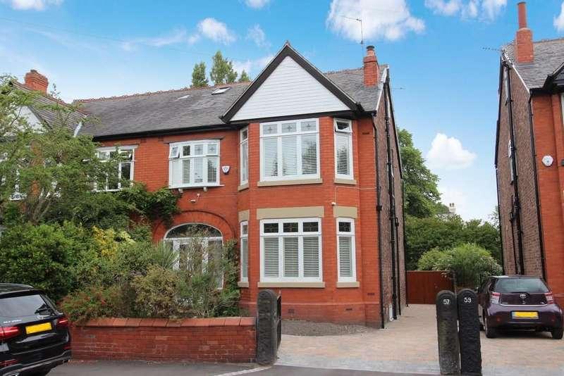 5 Bedrooms Semi Detached House for sale in Broomfield Road, Heaton Moor