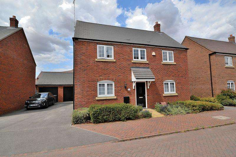 4 Bedrooms Detached House for sale in Grebe Drive, Leighton Buzzard