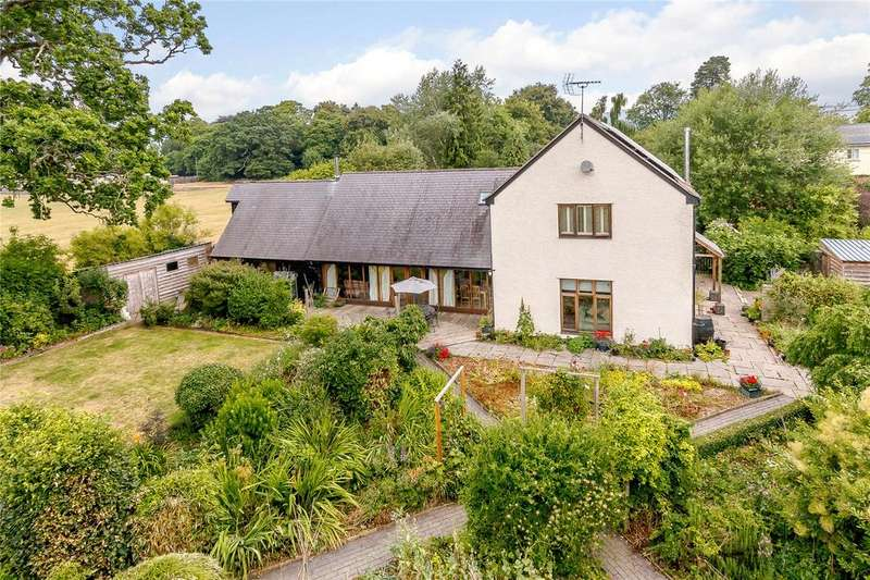 4 Bedrooms Detached House for sale in Greenfield Road, Presteigne, Powys