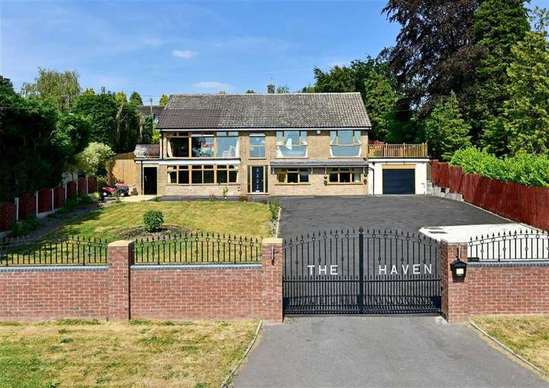 5 Bedrooms Detached House for sale in The Haven, Long Common, Claverley, Wolverhampton, Shropshire, WV5