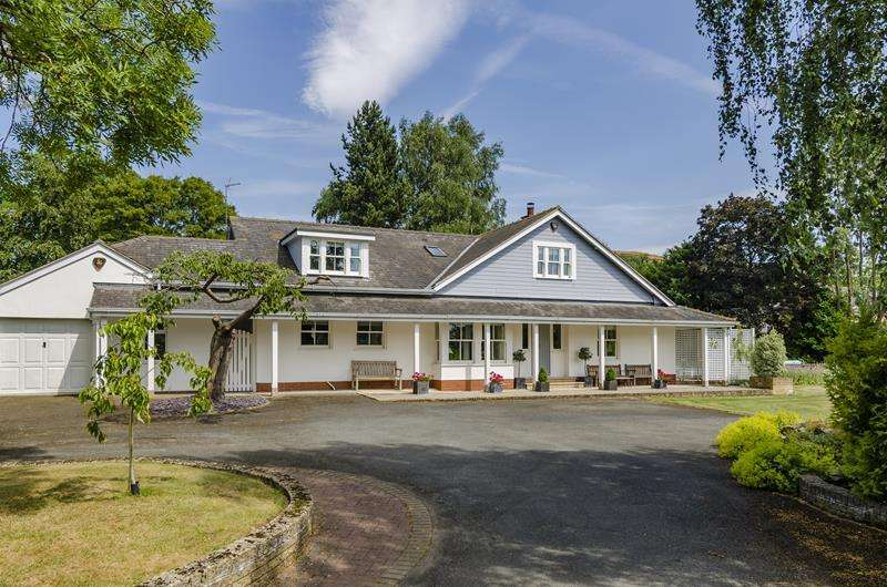4 Bedrooms Detached House for sale in Fairfield, Old Church Road, Colwall, Malvern, Herefordshire, WR13 6EZ