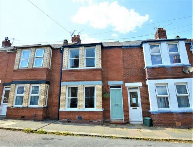 3 Bedrooms Terraced House for sale in Normandy Road, Heavitree, EXETER, Devon