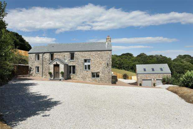 3 Bedrooms Detached House for sale in Bluebell Lane, Golberdon, Callington, Cornwall