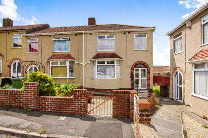 3 Bedrooms End Of Terrace House for sale in Hawthorne Avenue, Hanham, Bristol, South Gloucestershire